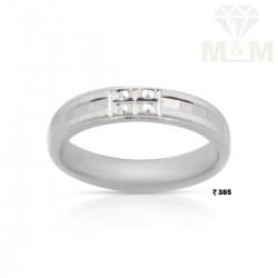 Amiably Silver Wedding Ring