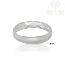 Luxurious Silver Wedding Ring