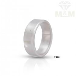 Auspicious Silver Wedding Ring