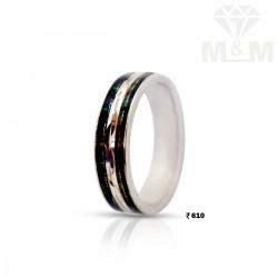 Polite Silver Wedding Ring