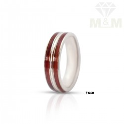 Gratify Silver Wedding Ring