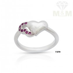 Perfection Silver Fancy Ring