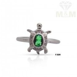 Popular Silver Fancy Stone Ring