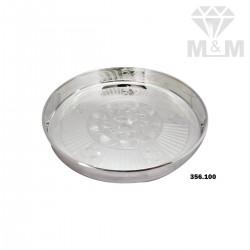 Luxuriant Silver Fancy Plate