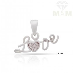 Amiable Silver Heart Pendant