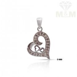 Captivate Silver Heart Pendant