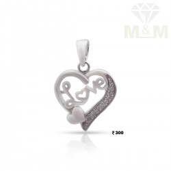Culture Silver Heart Pendant