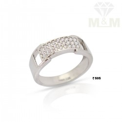 Attractive Silver Fancy Ring