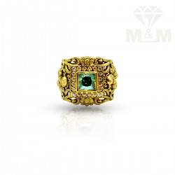 Haunting Gold Emerald Stone...