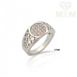 Famous Silver Fancy Ring