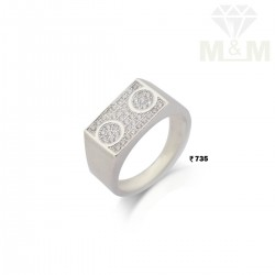 Glamorous Silver Fancy Ring