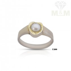 Miraculous Silver Pearl Ring