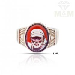 Perfect Silver Sai Baba Ring