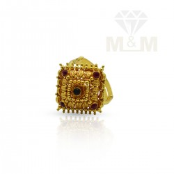 Polite Gold Fancy Ring