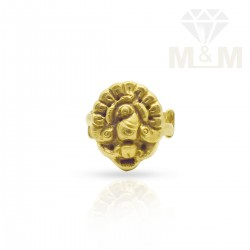 Splendid Gold Bird Nagas Ring