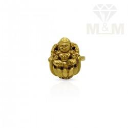 Gorgeous Gold Nagas ring
