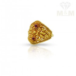 Fabled Gold Fancy Ring
