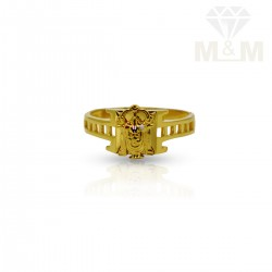 Hallowed Gold Lord Balaji Ring