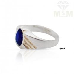 Unique Silver Blue Sapphire...