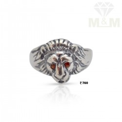 Well Favoured Silver Lion Ring