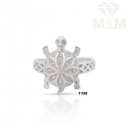Mesmerizing Silver Fancy Ring