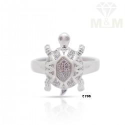 Classy Silver Fancy Ring