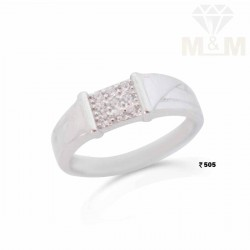 Vibrant Silver Fancy Ring