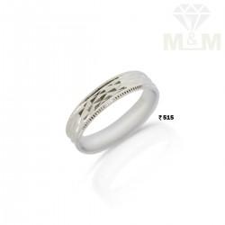 Skilful Silver Wedding Ring