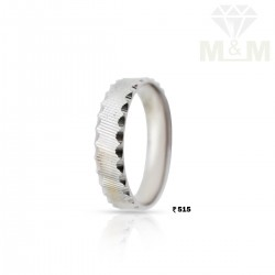 Captivate Silver Wedding Ring