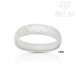 Enthral Silver Wedding Ring