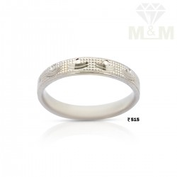 Snazzy Silver Wedding Ring