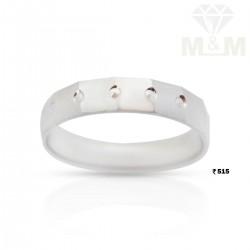 Notable Silver Wedding Ring