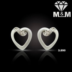 Jazziest Platinum Diamond Earring
