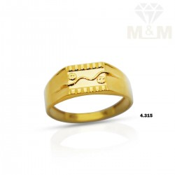Glorious Gold Casting Ring