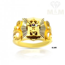 Tremendous Gold Balaji Ring