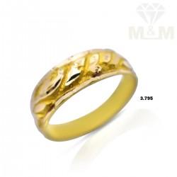 Consummate Gold Wedding Ring