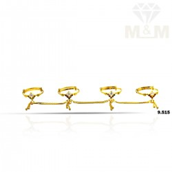 Tranquil Gold Fancy Set Ring