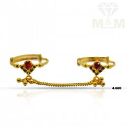 Personable Gold Fancy Set Ring