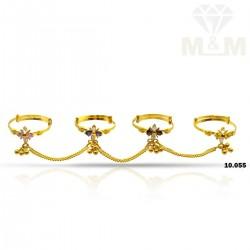 Phenomenal Gold Fancy Set Ring