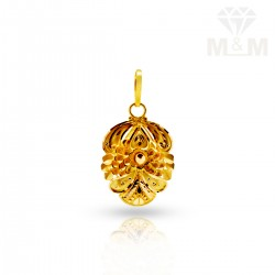 Gorgeous Gold Fancy Pendant