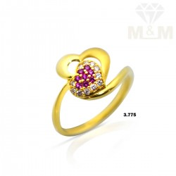 Embellish Gold Casting Ring