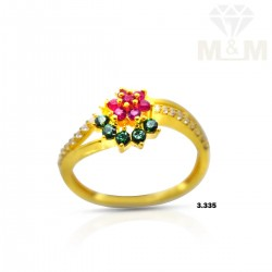 Fascinate Gold Casting Ring