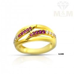Impossibly Gold Casting Ring