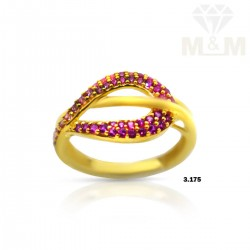 Prettiness Gold Casting Ring