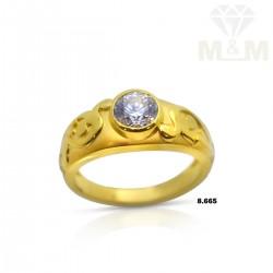 Resplendent Gold Casting Ring