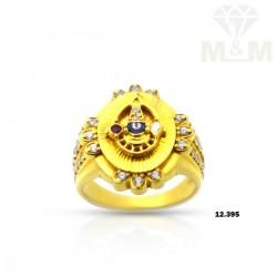 Adorable Gold Balaji Ring