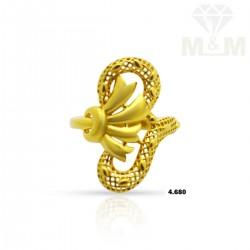 Amazing Gold Casting Ring