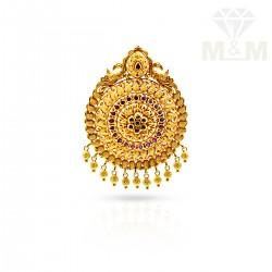 Nifty Gold Antique Pendant