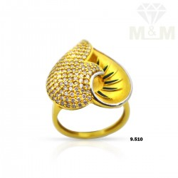 Attractive Gold Casting Ring