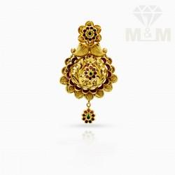 Luxurious Gold Antique Pendant
